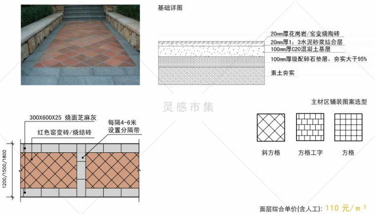 让你的道路铺装设计不再单调,连砖块造型都是爱您的形状