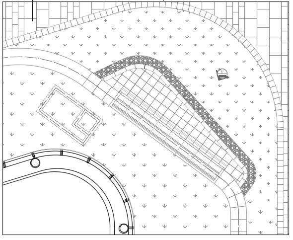 [北京]西红门商业区园林景观全套施工图(水电,结构)