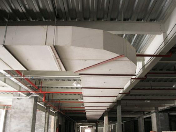 采暖、通风与空气调节工程安装工艺标准(试行版)——风管施工