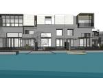 新中式风格水景别墅区设计方案sketchup模型