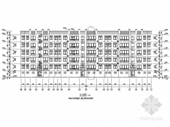 [山东]六层砖混结构公馆建筑结构施工图