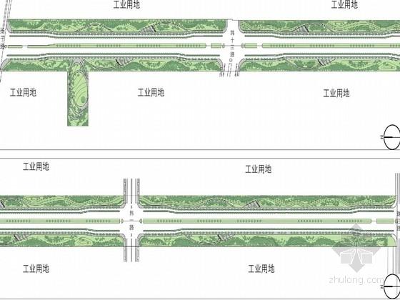 [苏州]现代产业园道路景观规划设计方案