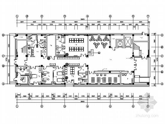 [杭州]社区综合性医疗卫生服务中心室内装修设计施工图(含效果)