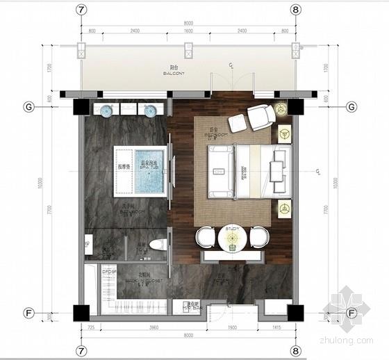 [北京]简约中式艺术酒店室内设计概念方案