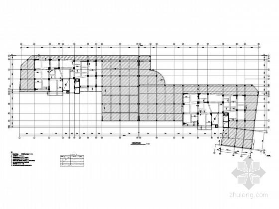 17层框剪住宅结构施工图(CFG桩、平法)