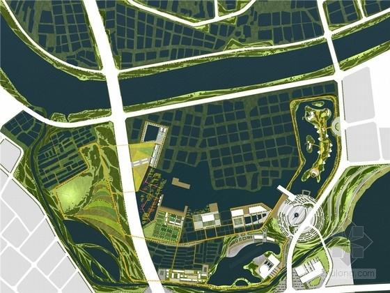 [佛山]生态自然旅游景区景观规划设计方案(含CAD总图)