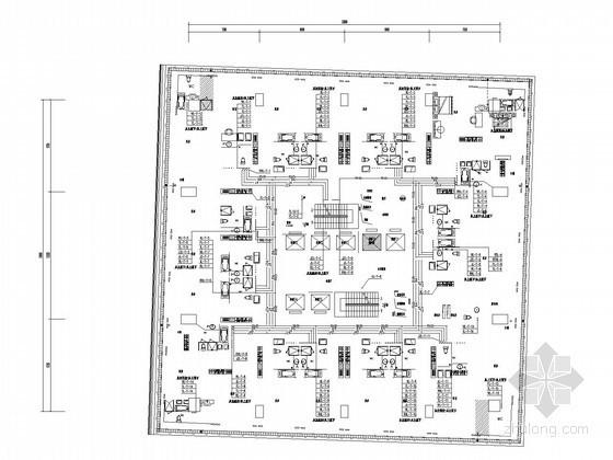 [湖北]五星级酒店给排水消防施工图(连廊 气溶胶 游泳池)