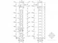 钢框架电梯井道结构施工图