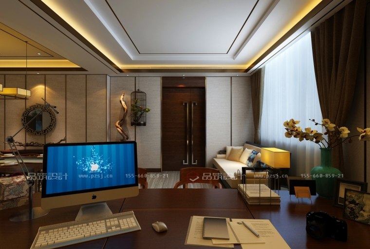 沈阳地产公司办公室设计效果图震撼来袭-14.jpg