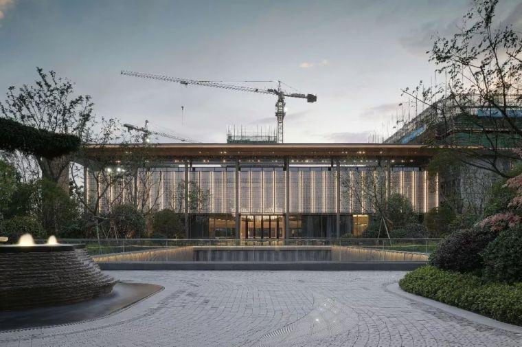 居住区|杭州示范区景观设计项目盘点_31
