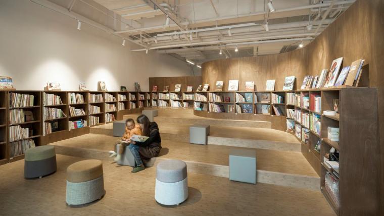 上海万科方亭图书馆