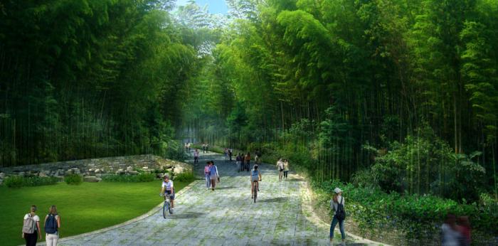 [广西]桂林风情古镇老街乡村景观设计方案(赠项目lumion动画)-效果图22