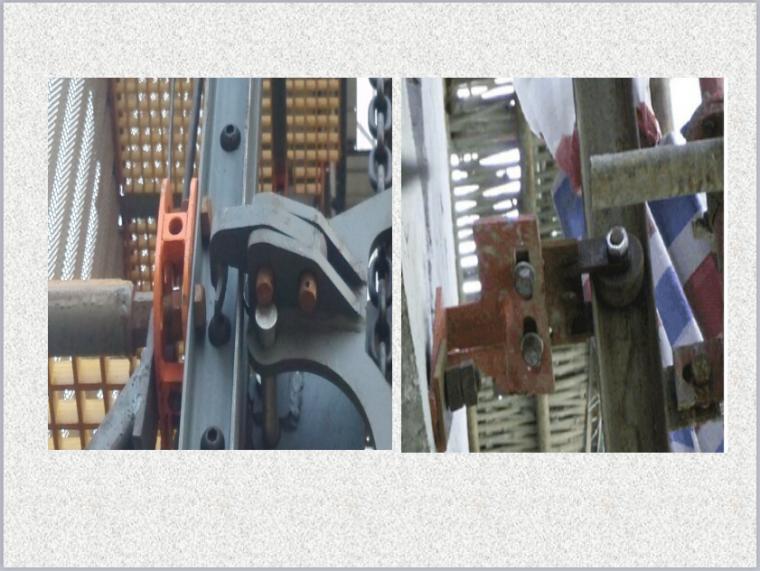 附着式升降脚手架安全装置(防倾覆、防坠落)