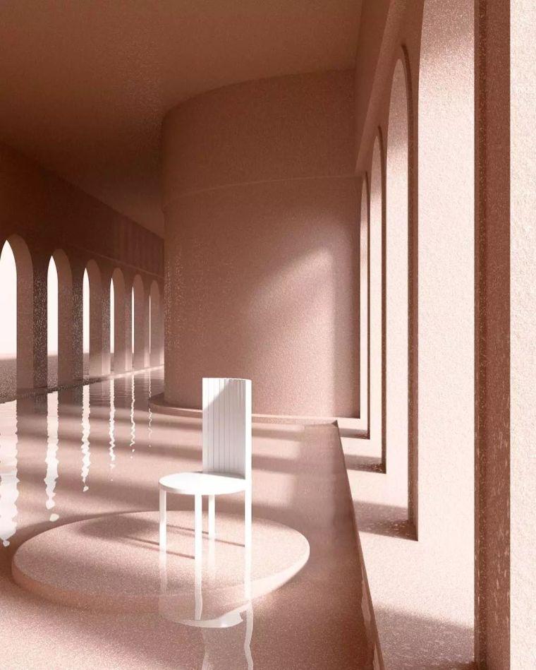 建筑设计中的点线面_10