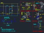 推拉门、卷帘门结构节点详图