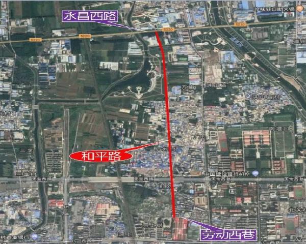 路面效果图一个比一个美!许昌将规划新建8条道路,快看都在哪!