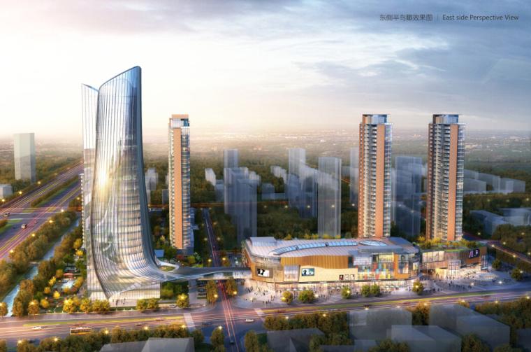 [江苏]超高层商业及酒店、住宅综合体项目方案文本(含CAD)