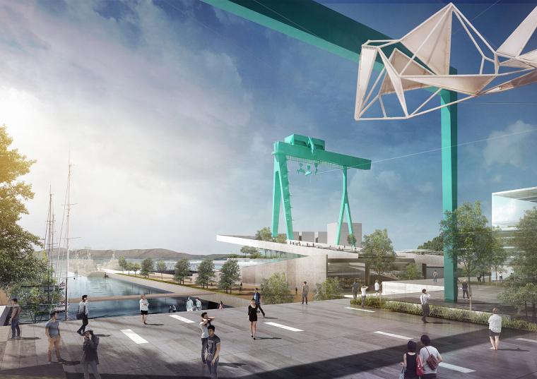 [知名设计公司特辑]走进AECOM的景观规划世界(70套资料在文末)-韩国CampMare港口城市规划-4