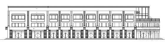 山东香港五金家居城B9块改造工程建筑施工图