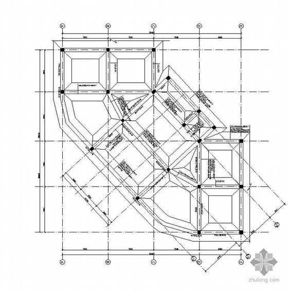 郑州某4层混凝土框架结构厂房施工图
