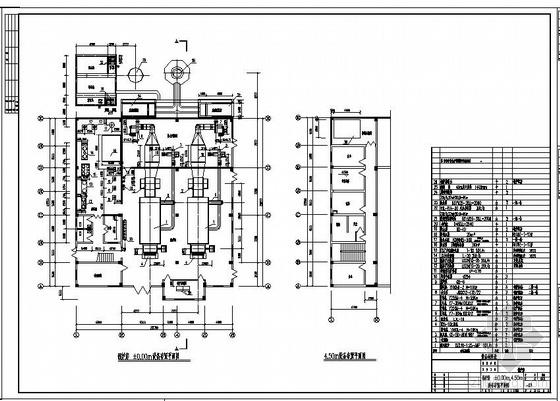 药厂锅炉房施工图
