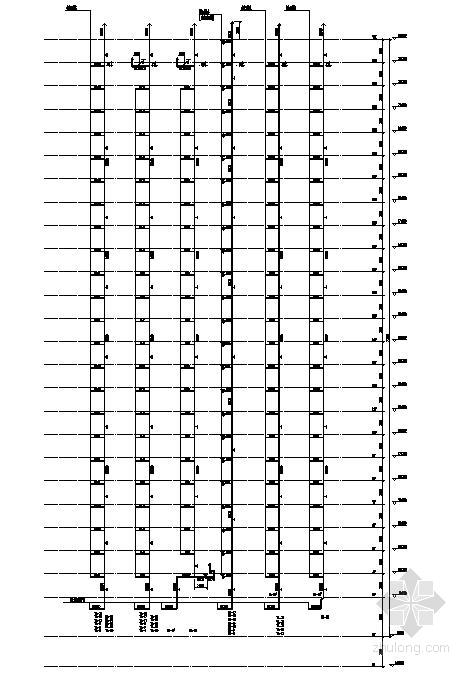 重庆市某26层住宅给排水图纸-