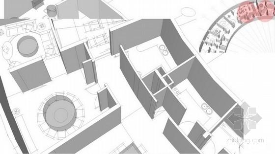 [深圳]某中式风会所室内设计策划方案