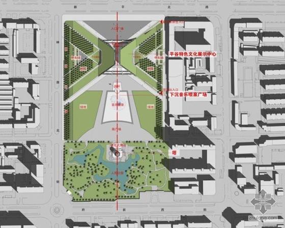 平谷广场景观设计方案
