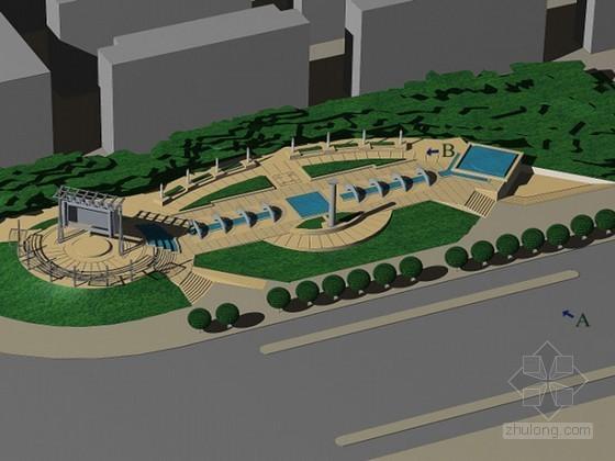 [深圳市]某城市公共空间改造方案