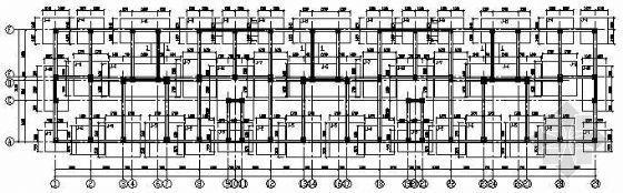 四川某住宅六层底框砌体结施图