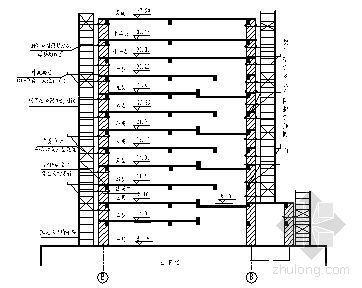 云南某综合楼外脚手架施工方案