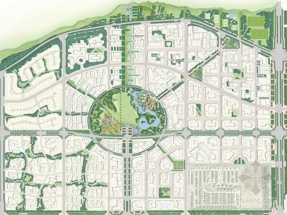 [北京]大型国际化奥林匹克概念活力宜居滨水公园绿地景观设计方案