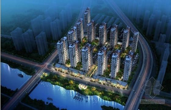 [西安]高层滨河复合型高品质宜居住宅建筑设计方案文本(含三套方案)