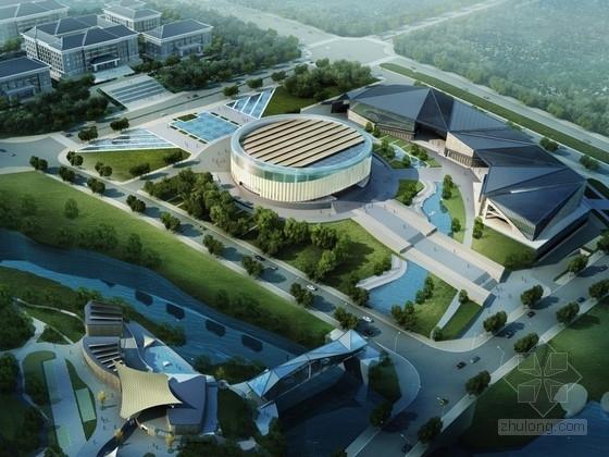 [重庆]省级现代风格休闲文化中心概念性规划设计方案文本