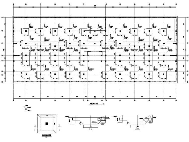 [江苏]地上8层框剪结构福利院提升改造结构施工图