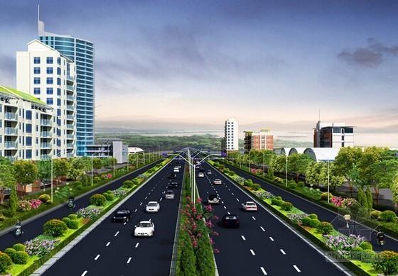 [青岛]道路整治工程预算书及招标文件(福莱软件实例 图纸)