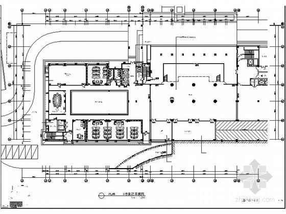 [广东]工业园区1.32亿科技中心现代风格办公楼室内装修施工图