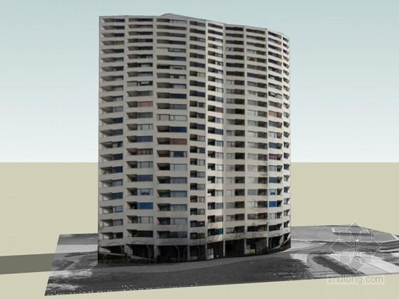 高层公寓楼