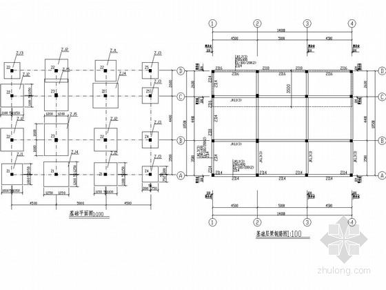 地上三层框架结构别墅结构施工图