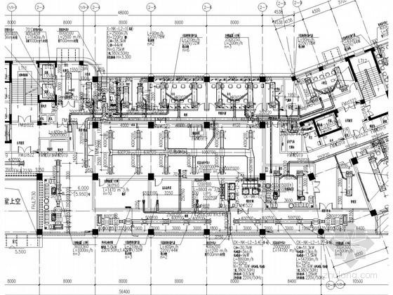 [浙江]高层医院住院楼空调及通风排烟系统设计施工图(特殊系统)