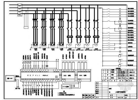 太阳能PLC控制系统原理图