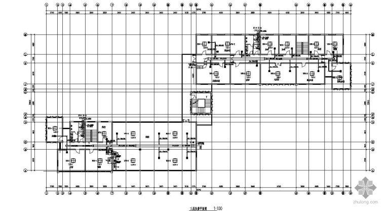 某办公楼VRV空调图纸