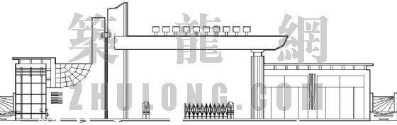 某学校大门建筑设计方案