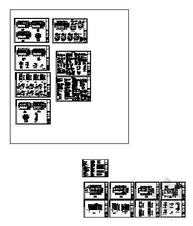 永春县某三层医院门诊综合楼建筑结构设计图-4
