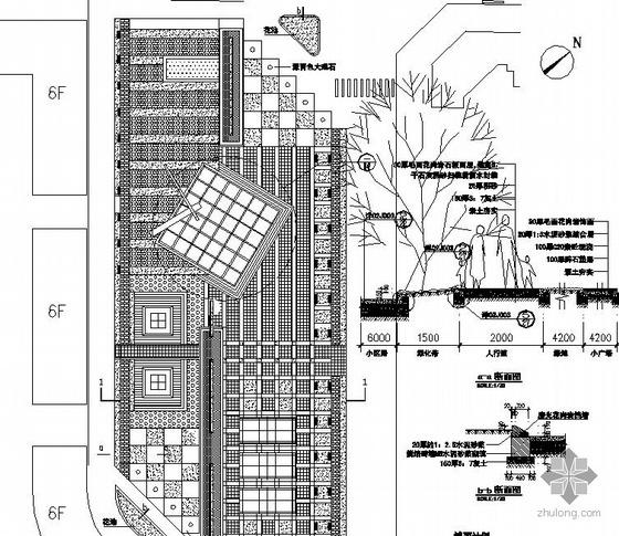 江西某休闲广场景观设计施工图