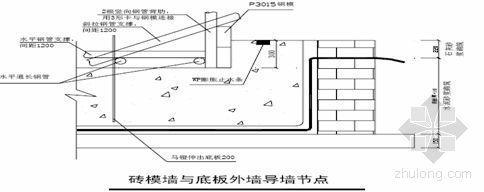苏州某住宅项目防水工程施工方案