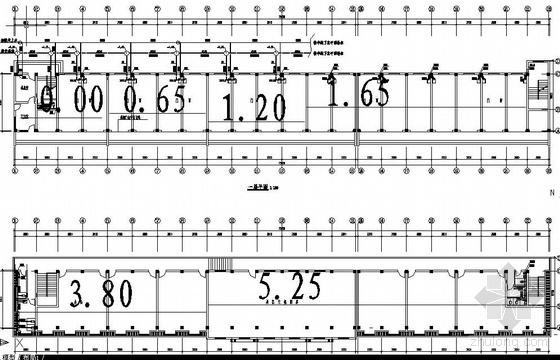 UPVC配件资料下载-某二层沿街门面给排水设计图