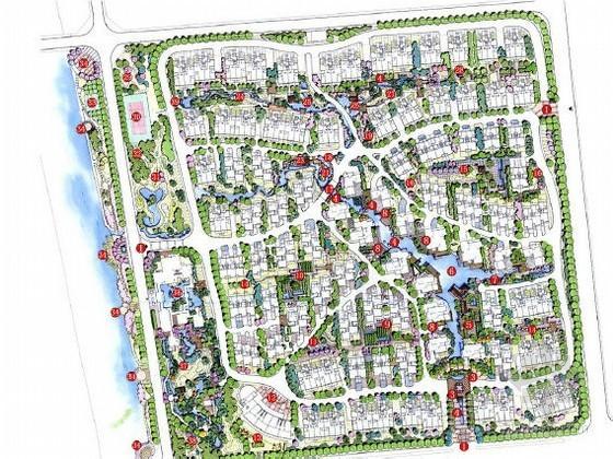 [扬州]中式现代居住区景观设计方案