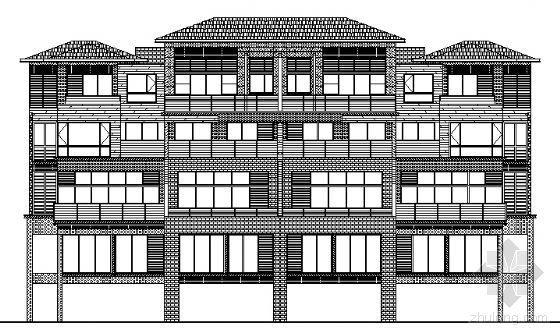 丹堤C区21、22号楼建筑施工图