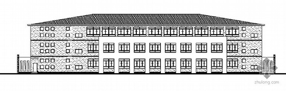 某三层厂房建筑结构施工图